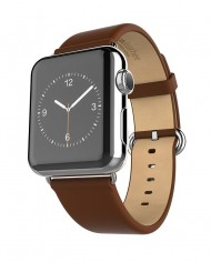 HOCO-Genuine-Premium-PU-Leather-WatchBand-For-Apple-iWatch-Strap-Buckle-With-Stainless-Steel-2-Adapter
