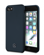 coque-compatible-apple-iphone-6-6s-7-8-soft-touch-bleu-navy-mercedes