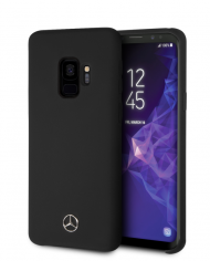 coque-compatible-samsung-galaxy-s9-soft-touch-noir-mercedes