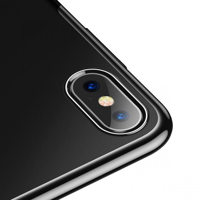 coque iphone xs noir rigide